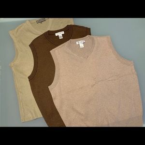$13 for 3 x Men's Vests for spring & fall